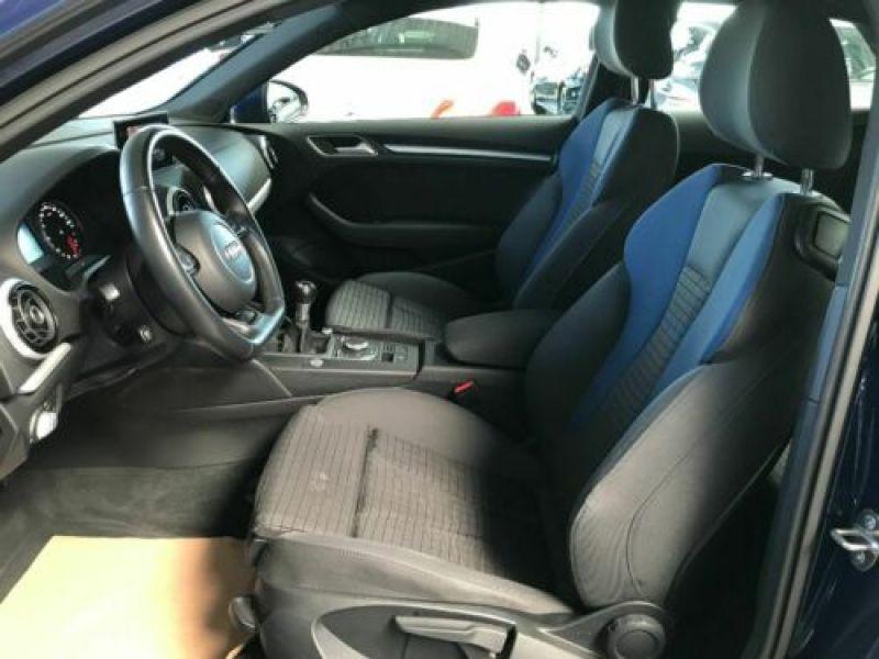 Audi A3 1.4 TFSI 125 cv Bleu occasion à Beaupuy - photo n°2