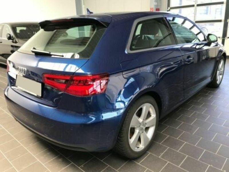 Audi A3 1.4 TFSI 125 cv Bleu occasion à Beaupuy - photo n°3