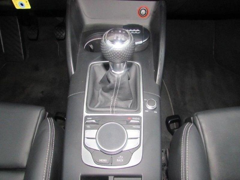 Audi A3 1.4 TFSI 150 cv S Line Noir occasion à Beaupuy - photo n°5