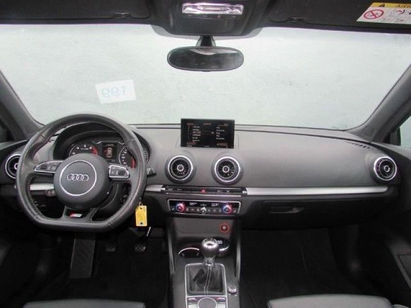 Audi A3 1.4 TFSI 150 cv S Line Noir occasion à Beaupuy - photo n°2