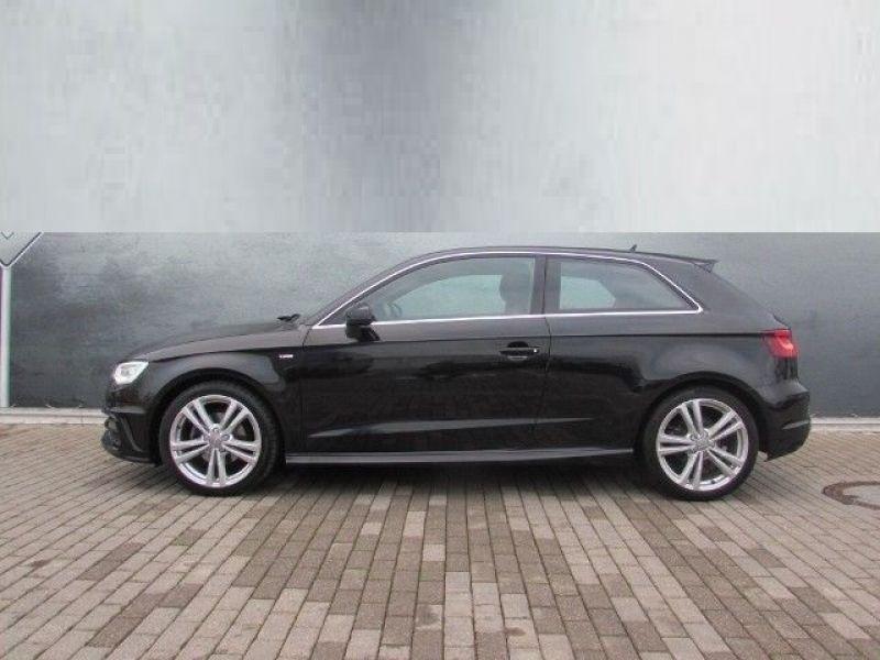 Audi A3 1.4 TFSI 150 cv S Line Noir occasion à Beaupuy - photo n°8