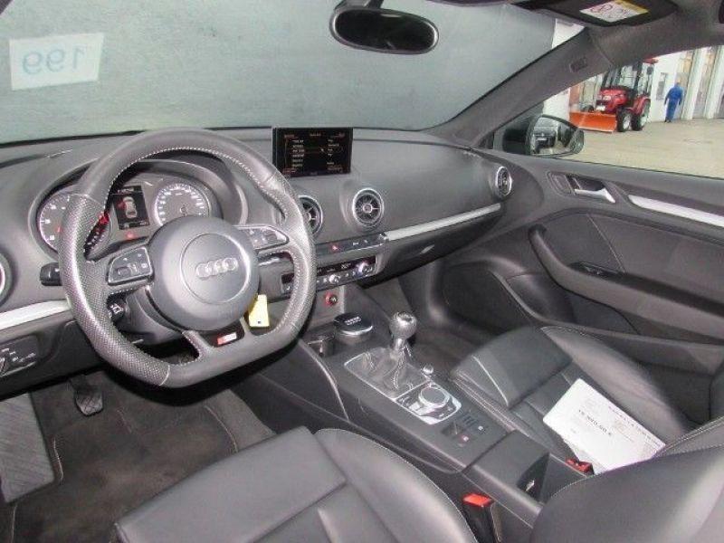 Audi A3 1.4 TFSI 150 cv S Line Noir occasion à Beaupuy - photo n°4