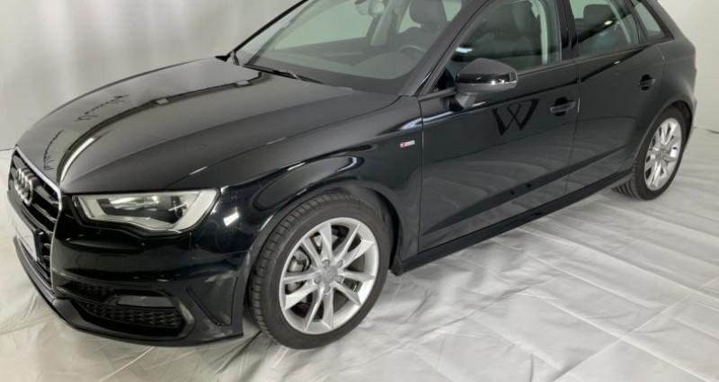 Audi A3 1.4 tfsi cod 150hpe s line i Noir occasion à Neuilly Sur Seine