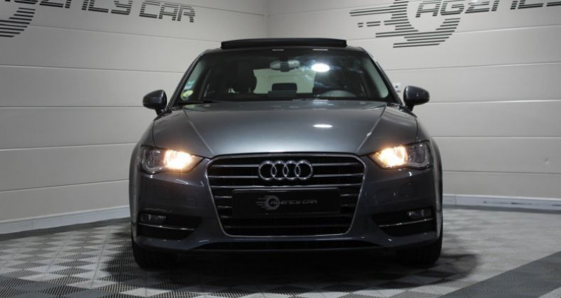 Audi A3 1.6 TDI 105ch Ambition Luxe Gris occasion à COIGNIERES - photo n°3