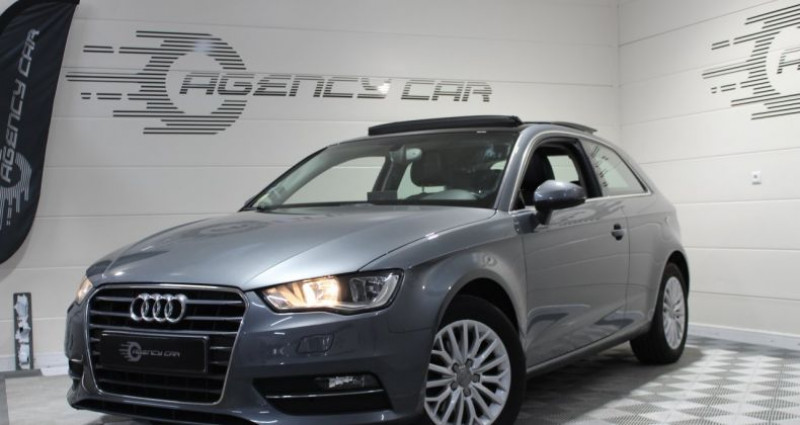 Audi A3 1.6 TDI 105ch Ambition Luxe Gris occasion à COIGNIERES