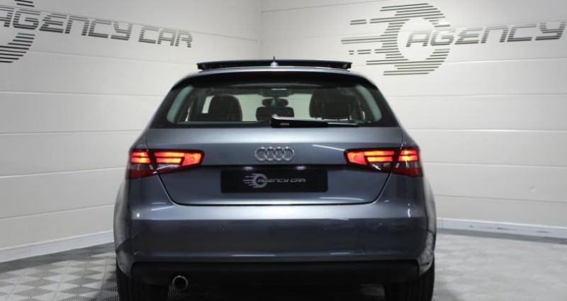 Audi A3 1.6 TDI 105ch Ambition Luxe Gris occasion à COIGNIERES - photo n°4