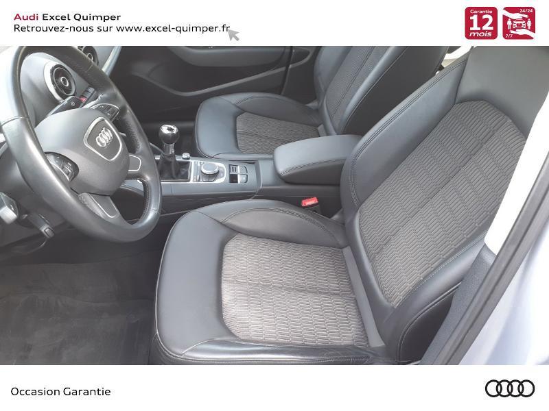 Audi A3 1.6 TDI 110ch FAP Advanced Argent occasion à Quimper - photo n°7