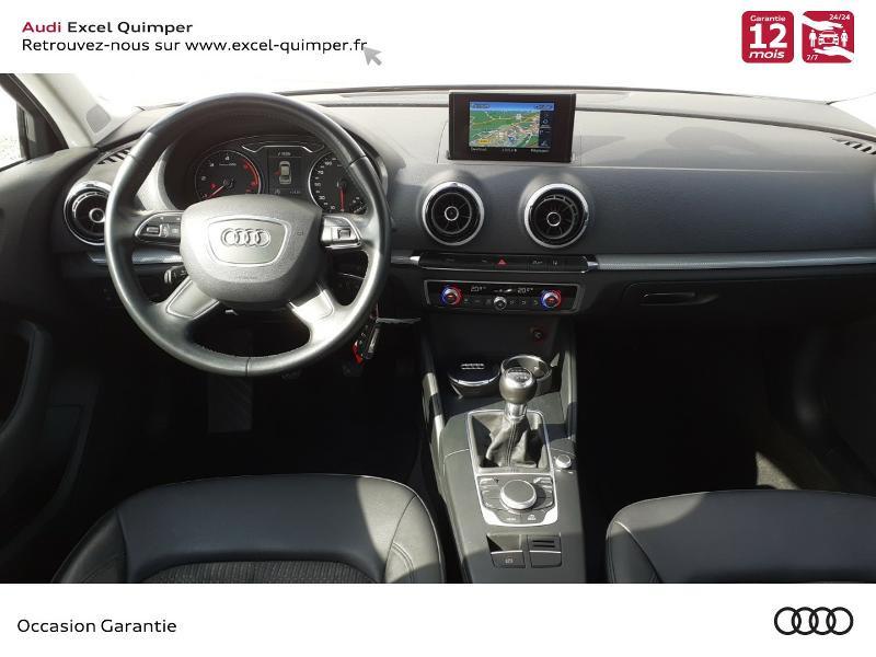 Audi A3 1.6 TDI 110ch FAP Advanced Argent occasion à Quimper - photo n°6