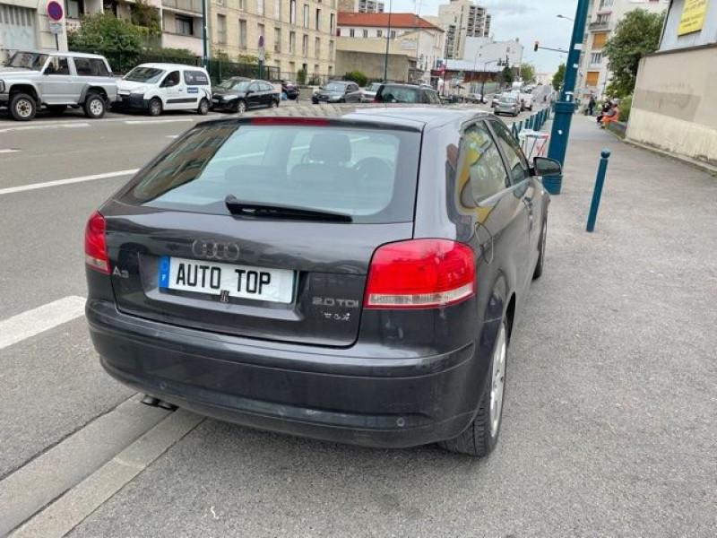Audi A3 2.0 TDI 140CH AMBITION LUXE 3P Gris occasion à Pantin - photo n°3