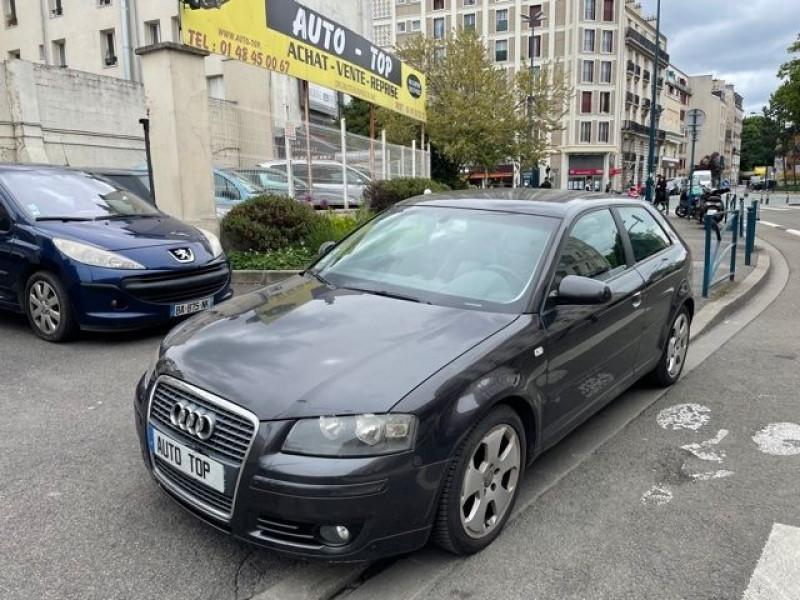 Audi A3 2.0 TDI 140CH AMBITION LUXE 3P Gris occasion à Pantin