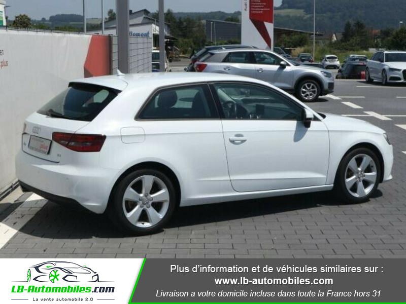 Audi A3 2.0 TDI 150 Blanc occasion à Beaupuy - photo n°3