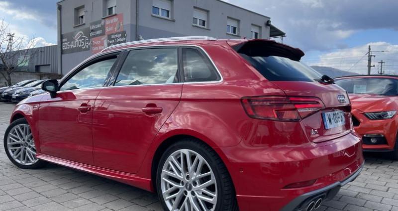 Audi A3 2.0 TDI 150ch S LINE - Virtual / Park pilote - 324/Mois Rouge occasion à SELESTAT - photo n°5