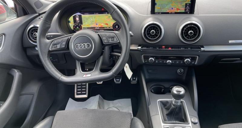 Audi A3 2.0 TDI 150ch S LINE - Virtual / Park pilote - 324/Mois Rouge occasion à SELESTAT - photo n°6