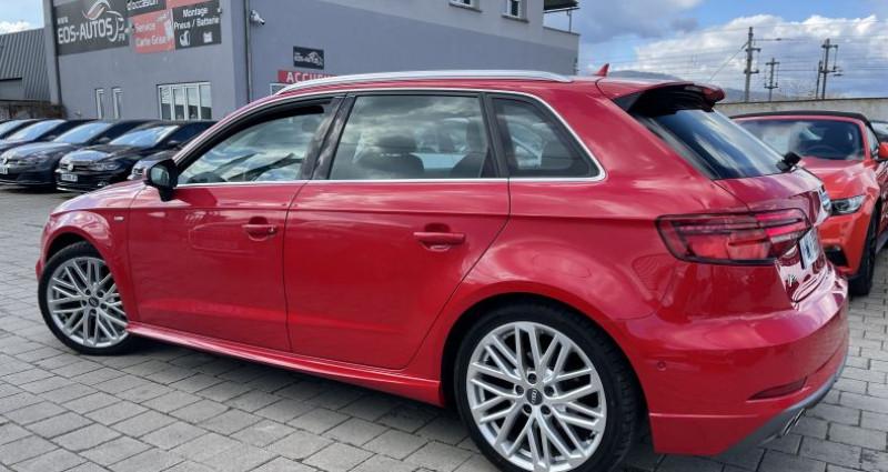 Audi A3 2.0 TDI 150ch S LINE - Virtual / Park pilote - 324/Mois Rouge occasion à SELESTAT - photo n°3