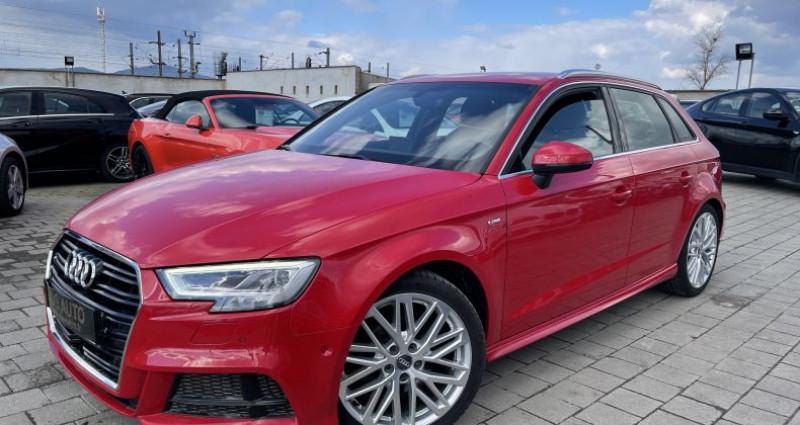 Audi A3 2.0 TDI 150ch S LINE - Virtual / Park pilote - 324/Mois Rouge occasion à SELESTAT - photo n°2
