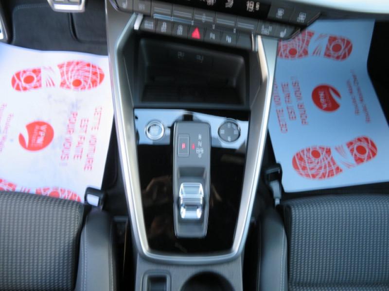 Audi A3 35 TDI 150CH S LINE S TRONIC 7 + JA18 + OPTIONS Gris occasion à Lormont - photo n°15