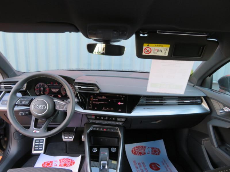 Audi A3 35 TDI 150CH S LINE S TRONIC 7 + JA18 + OPTIONS Gris occasion à Lormont - photo n°11