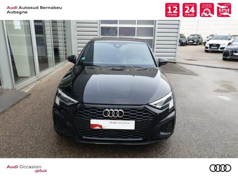Audi A3 35 TFSI 150ch S line S tronic 7 Noir occasion à Aubagne - photo n°5