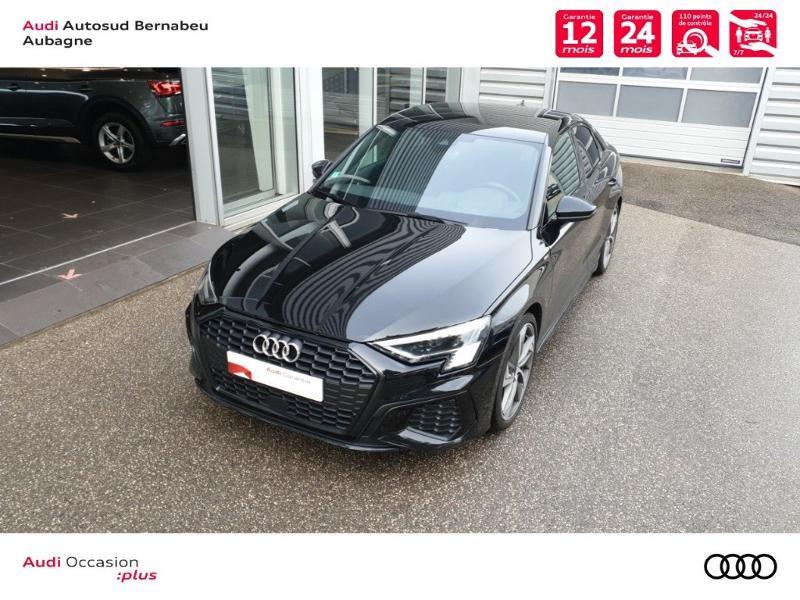 Audi A3 35 TFSI 150ch S line S tronic 7 Noir occasion à Aubagne - photo n°4