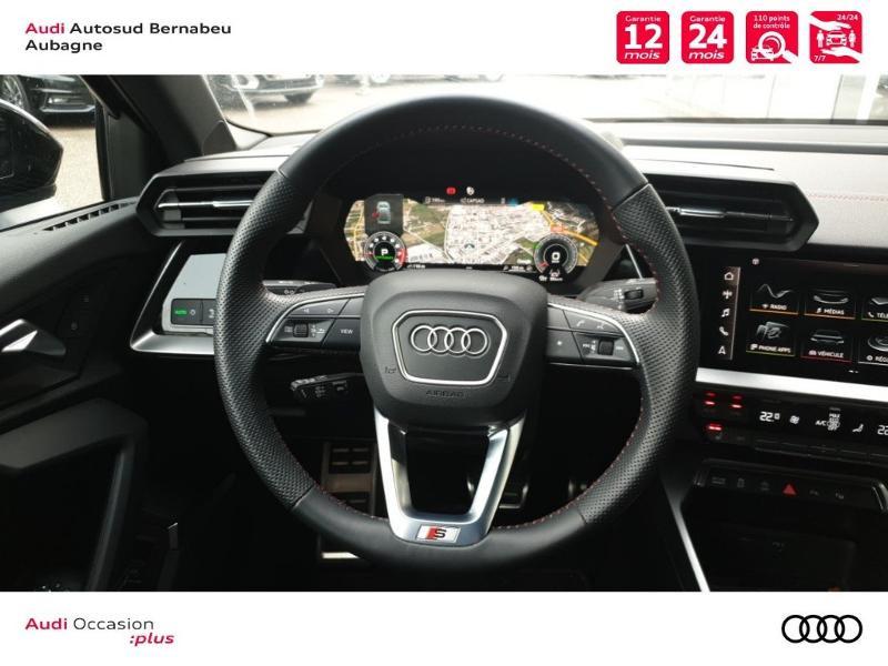 Audi A3 35 TFSI 150ch S line S tronic 7 Noir occasion à Aubagne - photo n°7