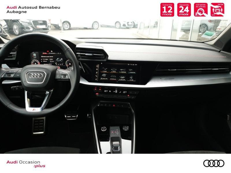 Audi A3 35 TFSI 150ch S line S tronic 7 Noir occasion à Aubagne - photo n°6