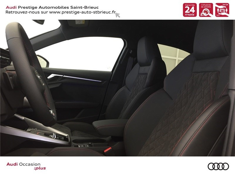 Audi A3 35 TFSI MILD HYBRID 150 S TRONIC 7  occasion à Saint-Brieuc - photo n°9