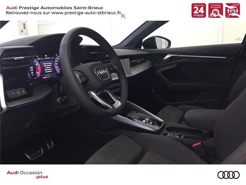 Audi A3 35 TFSI MILD HYBRID 150 S TRONIC 7  occasion à Saint-Brieuc - photo n°6