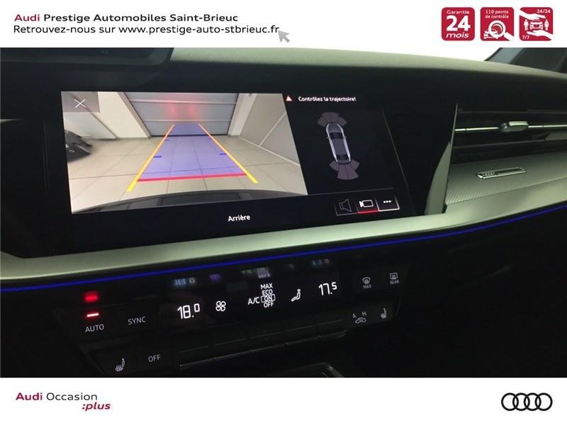 Audi A3 35 TFSI MILD HYBRID 150 S TRONIC 7  occasion à Saint-Brieuc - photo n°11