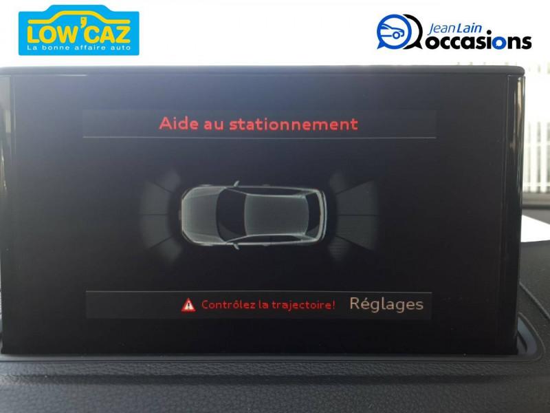 Audi A3 A3 1.6 TDI 110 Business Line S tronic 7 3p Noir occasion à La Ravoire - photo n°19