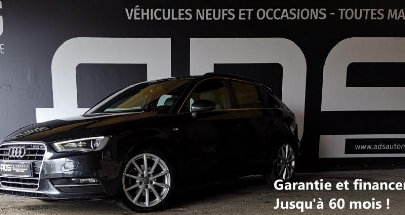 Audi A3 III 1.6 TDI 105ch FAP S Line Noir occasion à Diebling - photo n°2