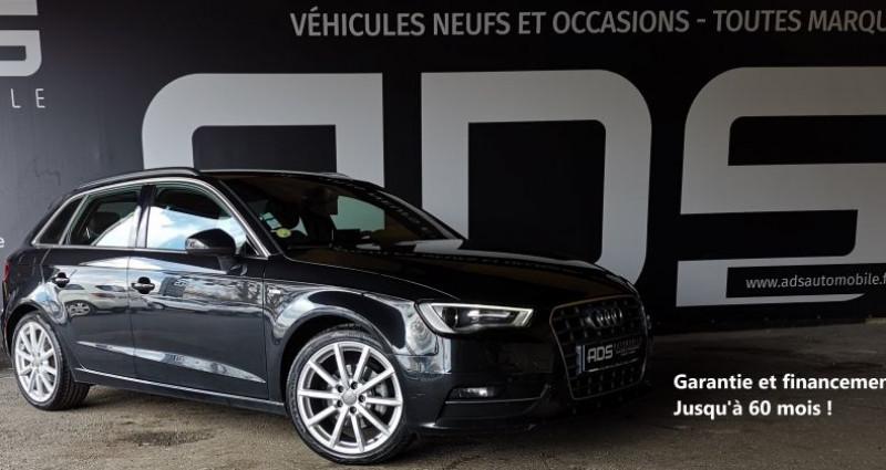 Audi A3 III 1.6 TDI 105ch FAP S Line Noir occasion à Diebling