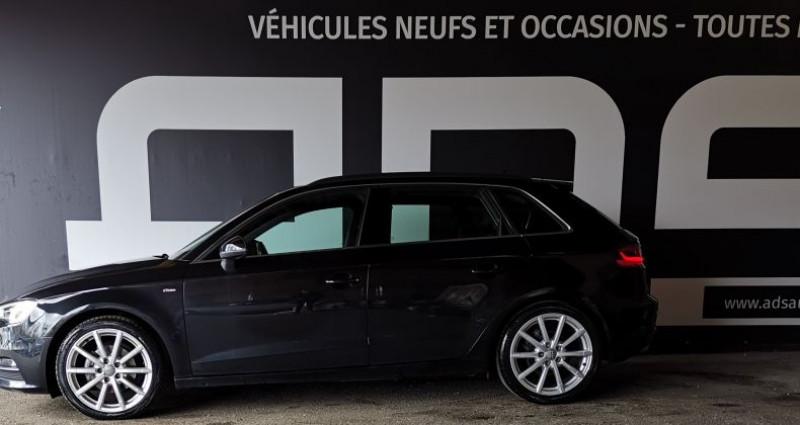 Audi A3 III 1.6 TDI 105ch FAP S Line Noir occasion à Diebling - photo n°6