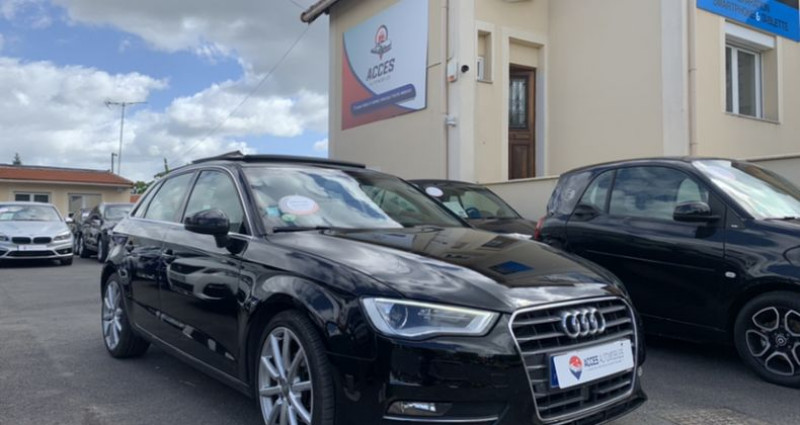 Audi A3 III 2.0 TDI 150ch Ambition Luxe S tronic 6 Noir occasion à HERBLAY