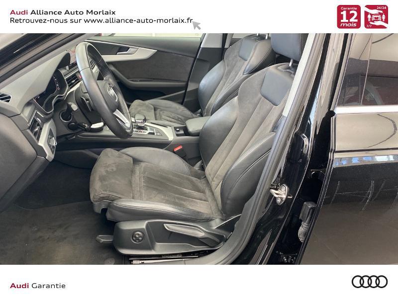 Audi A4 Allroad 2.0 TDI 163ch Design Luxe quattro S tronic 7 Noir occasion à Saint-Martin-des-Champs - photo n°4