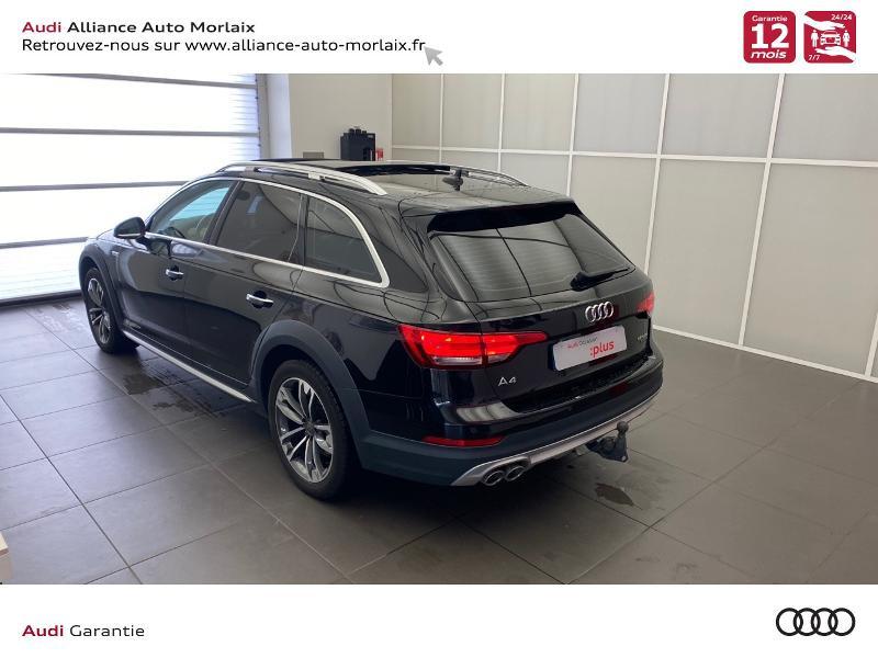 Audi A4 Allroad 2.0 TDI 163ch Design Luxe quattro S tronic 7 Noir occasion à Saint-Martin-des-Champs - photo n°13