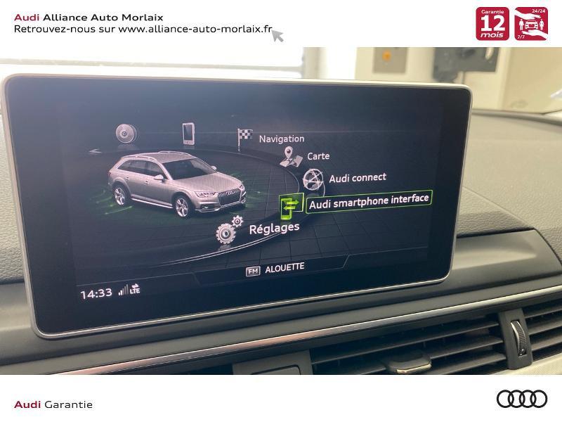 Audi A4 Allroad 2.0 TDI 163ch Design Luxe quattro S tronic 7 Noir occasion à Saint-Martin-des-Champs - photo n°19