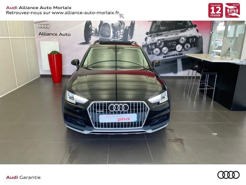 Audi A4 Allroad 2.0 TDI 163ch Design Luxe quattro S tronic 7 Noir occasion à Saint-Martin-des-Champs - photo n°6
