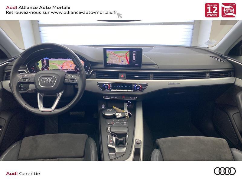 Audi A4 Allroad 2.0 TDI 163ch Design Luxe quattro S tronic 7 Noir occasion à Saint-Martin-des-Champs - photo n°2