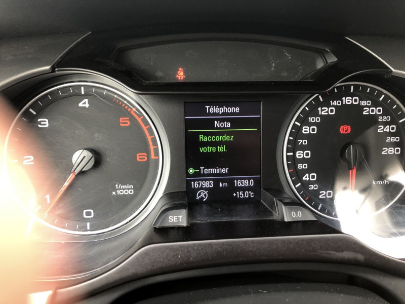 Audi A4 Allroad 2.0 TDI 170CH AMBITION LUXE QUATTRO Gris occasion à TOULOUSE - photo n°11
