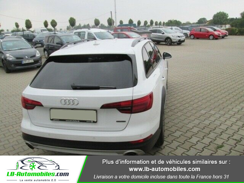 Audi A4 Allroad Quattro 2.0 TFSI 252 Blanc occasion à Beaupuy - photo n°3