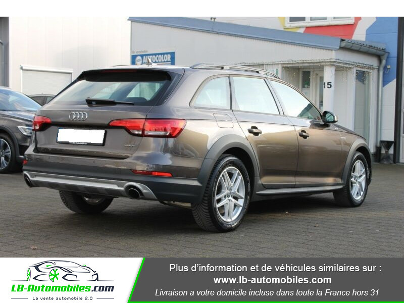 Audi A4 Allroad Quattro 2.0 TFSI 252 Marron occasion à Beaupuy - photo n°3