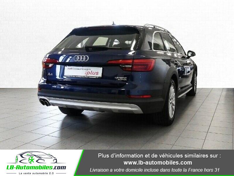 Audi A4 Allroad Quattro 3.0 TDI 218 Bleu occasion à Beaupuy - photo n°3
