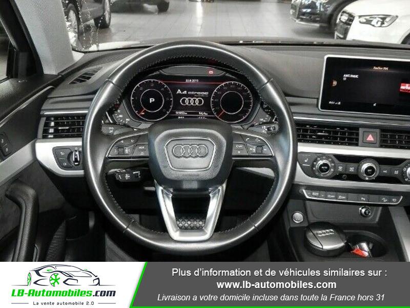 Audi A4 Allroad Quattro 3.0 TDI 218 Bleu occasion à Beaupuy - photo n°5