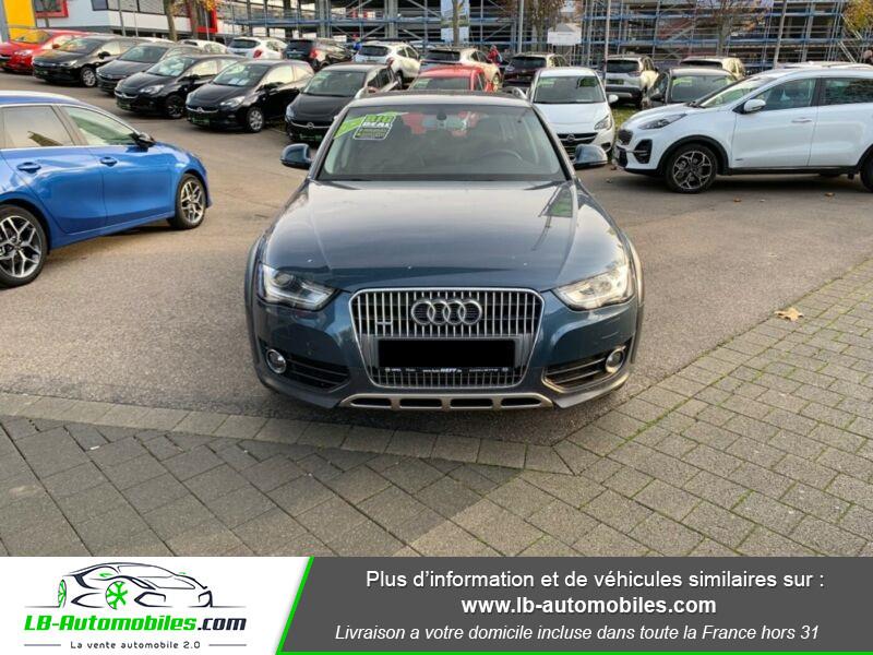 Audi A4 Allroad Quattro 3.0 TDI 245 Bleu occasion à Beaupuy - photo n°5