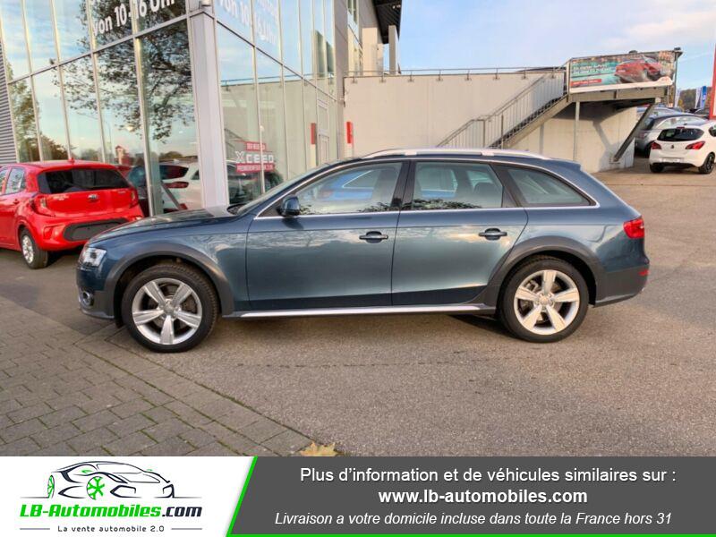 Audi A4 Allroad Quattro 3.0 TDI 245 Bleu occasion à Beaupuy - photo n°7