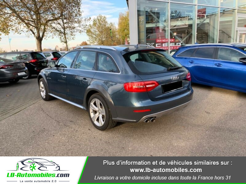 Audi A4 Allroad Quattro 3.0 TDI 245 Bleu occasion à Beaupuy - photo n°8