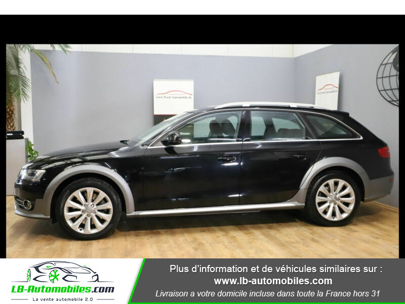 Audi A4 Allroad Quattro 3.0 TDI 245 Noir occasion à Beaupuy - photo n°12