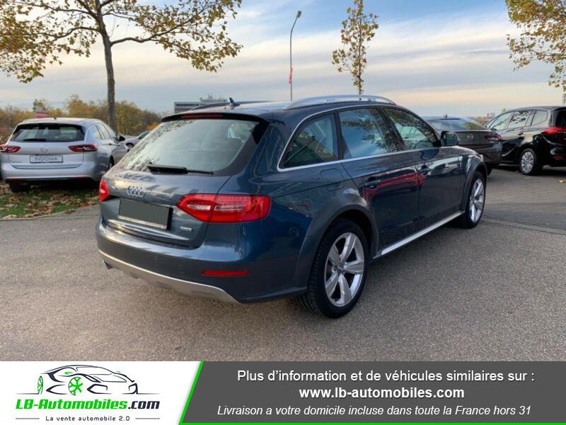 Audi A4 Allroad Quattro 3.0 TDI 245 Bleu occasion à Beaupuy - photo n°2