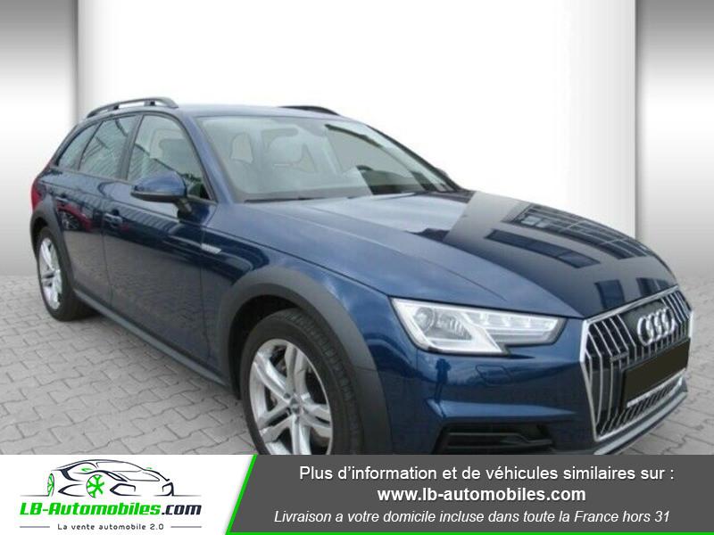 Audi A4 Allroad Quattro 3.0 TDI 272 Bleu occasion à Beaupuy - photo n°15