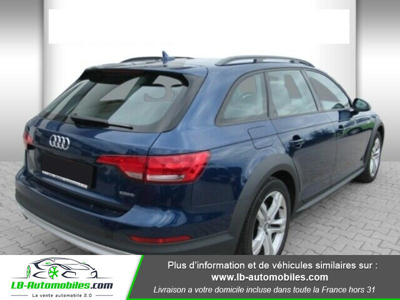 Audi A4 Allroad Quattro 3.0 TDI 272 Bleu occasion à Beaupuy - photo n°3